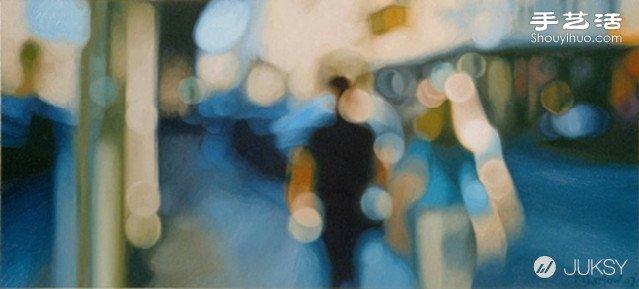 失焦拍攝的照片 呈現油畫般朦朧美