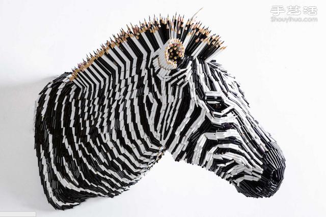 多彩鉛筆創意DIY美輪美奐雕塑畫作
