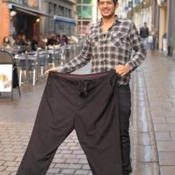 戒掉垃圾食物和持续跑步 男子减重108公斤