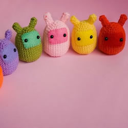 超萌的针织小动物玩偶