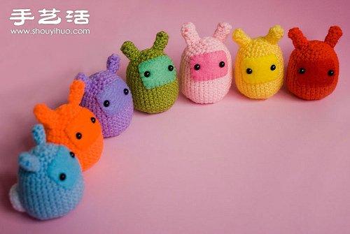 超萌的针织小动物玩偶 -  www.shouyihuo.com