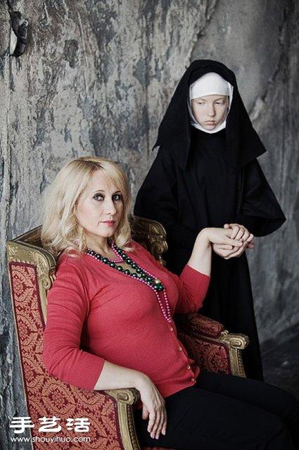 攝影師 Anna Radchenk 鏡頭下的病態母愛