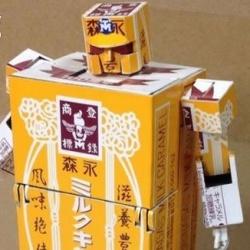 纸盒子手工制作可以变形的擎天柱模型玩