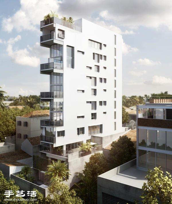 不在地震带可以这样盖 巴西窄幅六层楼公寓 -  www.shouyihuo.com