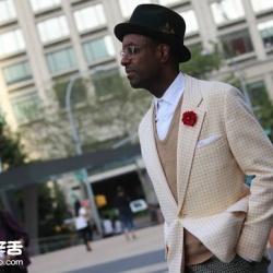 2015 纽约男装周街拍特别报导 (二)