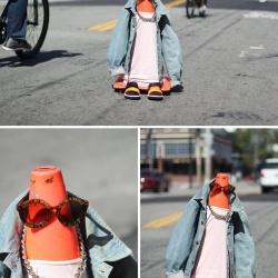 DIY幽默又有趣味的街头时尚创意摄影
