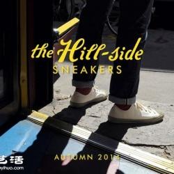 The Hill Side推出的秋冬帆布平底鞋