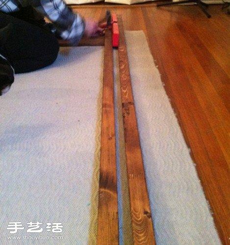 木条手工DIY制作装饰画 个性木条装饰画DIY -www.shouyihuo.com