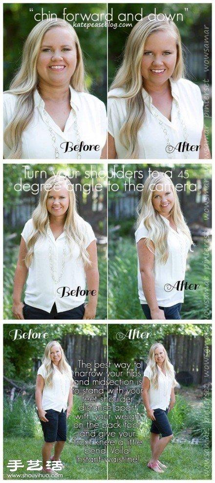 胖子如何拍照顯瘦 胖人顯瘦好看的拍照姿勢