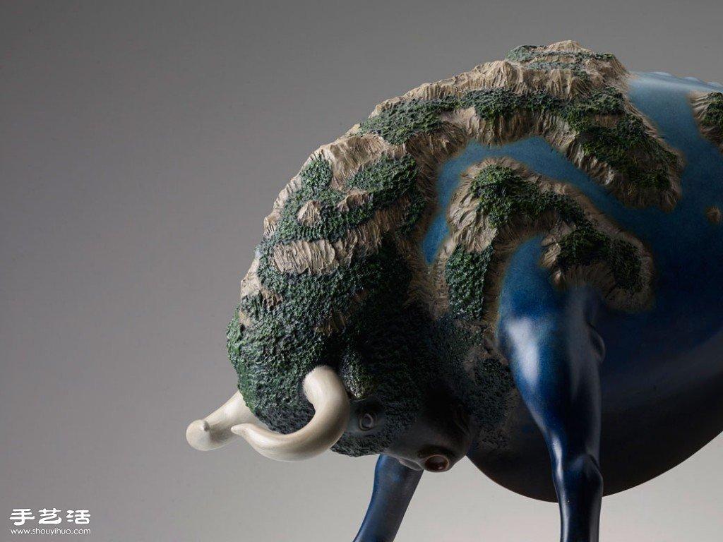 蕴藏生命力的超现实动物雕塑 -  www.shouyihuo.com