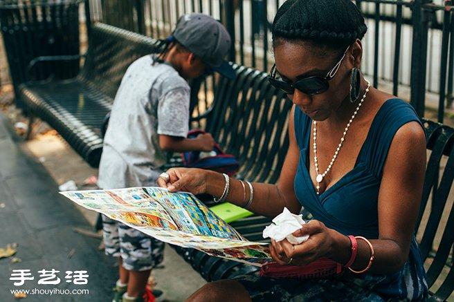 一位单亲妈妈纽约大楼丛林底下的市井生活