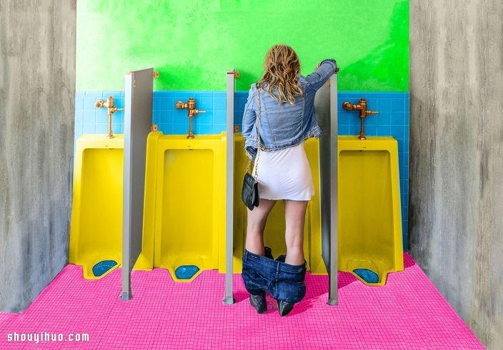 女性站立小便神器登場 防水易用造型美觀!