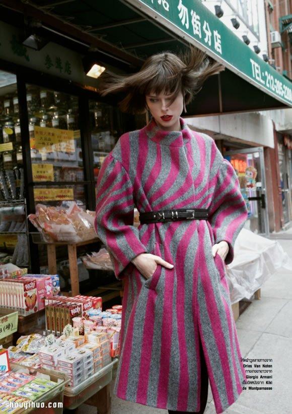 亚洲色短片_Pose女王 加拿大超模Coco Rocha时尚写真_手艺活网