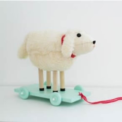 自制有趣的小绵羊拖车玩具手工DIY图解教