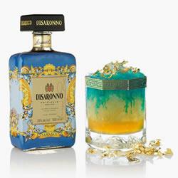 瑰丽奢华的外观 DISARONNO 全新酒瓶设计