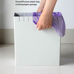 任何袋子皆适用的创意垃圾桶产品设计