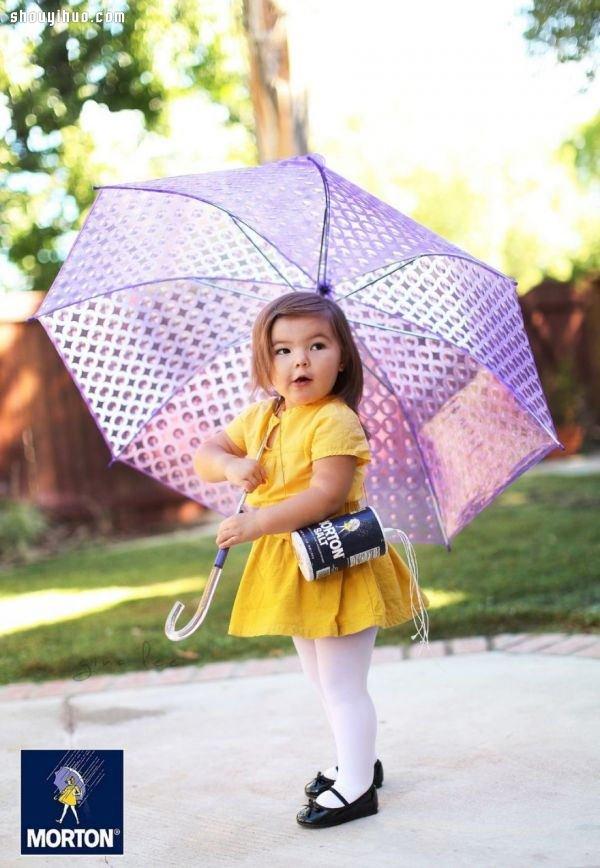 小女孩Willow万圣节变装给你更可爱的示范