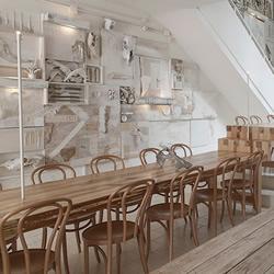 HUESO RESTAURANT墨西哥白骨餐厅装修设计