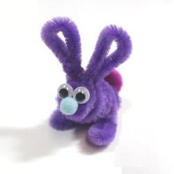 松紧带简单DIY手工制作兔子玩具图解教程