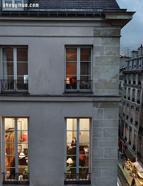 穿過大街小巷窗戶 拍攝你沒見過的巴黎人生