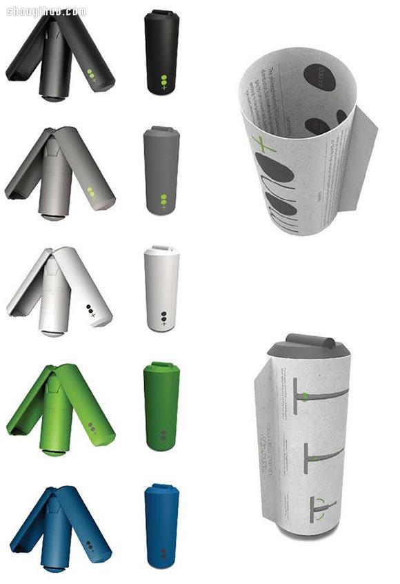 排隊神器 REST 收成罐頭的伸縮收納椅設計