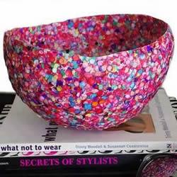 糖果+气球 DIY手工制作彩虹般绚丽的收纳罐