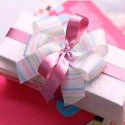 漂亮绸带蝴蝶结包装装饰手工制作图解教
