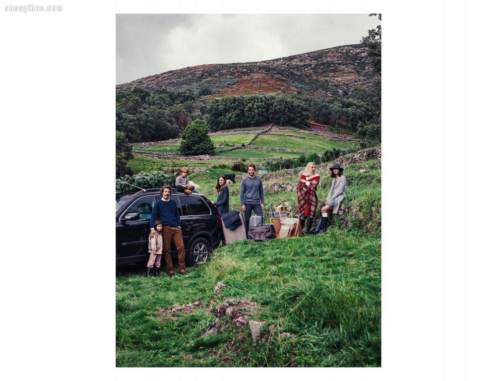 Zara Home 与朋友体会田园村野团聚的欢愉
