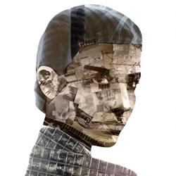 英国艺术家 NICK GENTRY DIY废弃胶卷画像