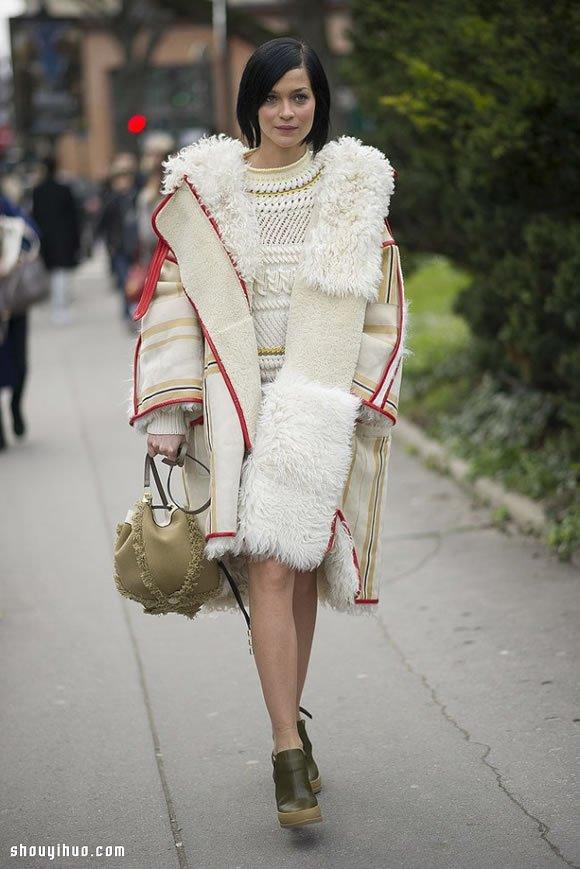 秋冬造型再升級:層層疊疊的女生穿搭守則