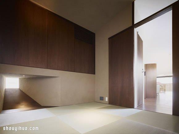 俯瞰富士山的日式精巧別墅裝修設計