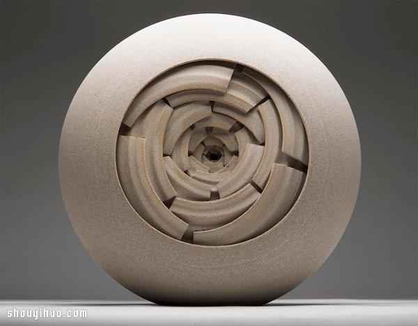 Matthew Chambers 无限陶罐创作 -  www.shouyihuo.com