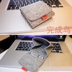 带磁吸不织布零钱包卡包布艺制作图解教