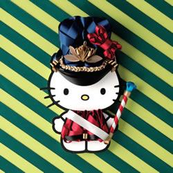 利用缎带DIY各种风格的 Hello Kitty 服装