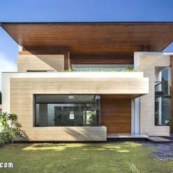 House in Mohali 印度带中央庭院别墅设计