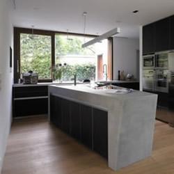完美演绎复合媒材 个性和灵魂兼具的厨房
