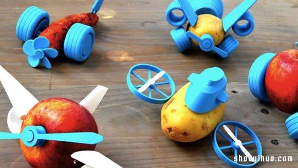 Open Toys!令小孩無法抗拒的蔬果玩具