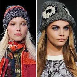 冬季时尚元素 2014-2015年帽子款式潮流