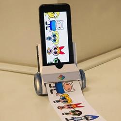 Printeroid便携式打印机 轻松打印手机内容