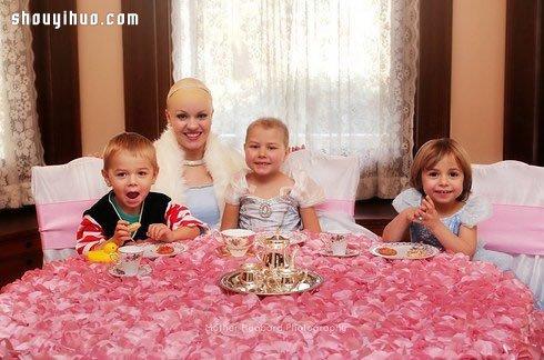 攝影師為5歲白血病女童拍攝的公主攝影集