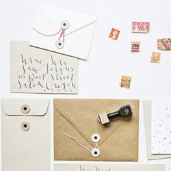 经典样式公文信封折纸手工制作图解教程