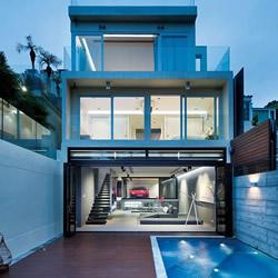 与法拉利共眠!香港的奢华跑车别墅设计