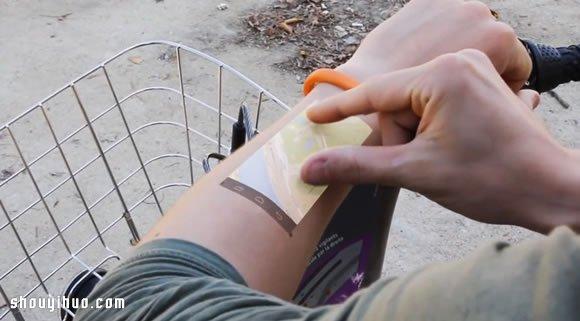 Cicret Bracelet智能手環 手腕上觸控操作