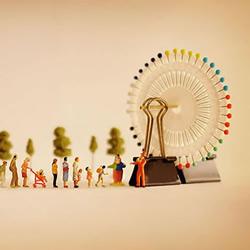 利用生活小物 创意DIY美好的微缩摄影