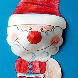立体圣诞老人/驯鹿/兔子/狗狗剪纸手工制作