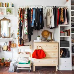 六个令人向往的时尚衣橱间布置设计