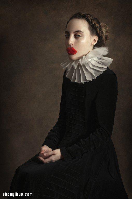 詼諧詭譎的文藝復興時代搞怪創意攝影作品