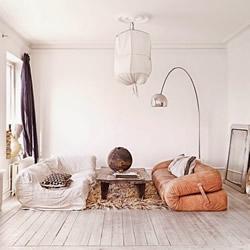 瑞典式的复古优雅 北欧极简风格室内大改造