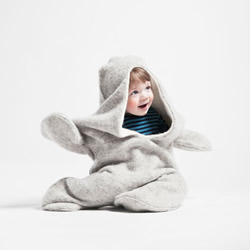 超Q儿童海豹装设计 让小小人保暖又时尚