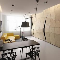 将60平米小空间利用到极致的家居装潢设